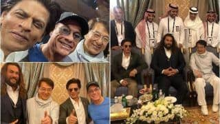 Shah Rukh Khan's 'Legendary Frame' With 'Aquaman' Jason Momoa, Jackie Chan And Jean-Claude Van Damme Makes Fans Jaws Drop in Awe