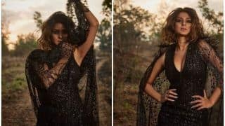 Beyhadh Actor Jennifer Winget Looks Smouldering Hot in Sexy Black Outfit, Pictures go Viral