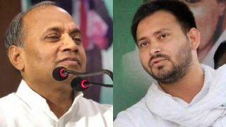 जदयू नेता का तेजस्वी पर जुबानी हमला, कहा- शराबबंदी के कारण रहते हैं राज्य से बाहर