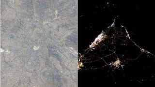 UAE's First Astronaut Hazza Sends Stunning Aerial View of Mecca From Space