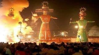 मथुरा के इस संत ने किया रावण दहन का विरोध, कहा- ये भारतीय संस्कृति के हैविरुद्ध
