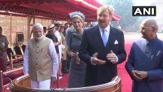 भारत पहुंचेनीदरलैंड के राजा और रानी, पीएम मोदी सहित कई राजनीतिक हस्तियों से की मुलाकात