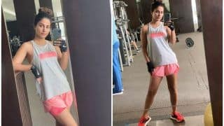 Hina Khan's Hot 'Mandfie' as She Sweats During Grind is Enough Motivation to Hit Gym This Tuesday