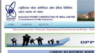 न्यूक्लियर पावर कॉर्पोरेशन ऑफ़ इंडिया लिमिटेड में इन पदों के लिए निकली वैकेंसी, जानें क्या है अप्लाई करने की अंतिम तारीख?