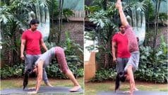 Shilpa Shetty Kundra's Effortless Handstand in THIS Video is All Monday Motivation You Need to Workout