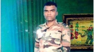 राजौरी में शहीद जवान संतोष का पार्थिव शरीर को लाया गया रांची