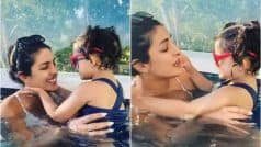Priyanka Chopra's Heartmelting Video as She Plays With Niece Sky Krishna in Pool Sets Fans Gushing
