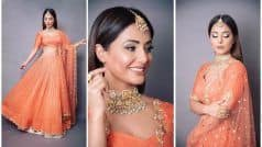 Hina Khan's 'Akshara Vibes' as She Sizzles Bridal Look Ahead of Wedding Season This Fall go Viral