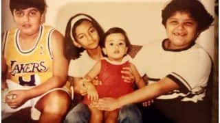 Arjun Kapoor Flaunting His 'Swag' And Trolling Rhea Kapoor, Anshula Kapoor, Janhvi Kapoor in THIS Childhood Picture is Basically All Brothers Ever!