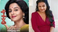 Shakuntala Devi Motion Poster: Vidya Balan Celebrates Maths Genius on World Mathematics Day