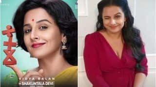 Shakuntala Devi – Human Computer: Vidya Balan Drops Motion Poster to Celebrate The Genius on World Mathematics Day, Flaunts Her Maths Skills in THIS Game