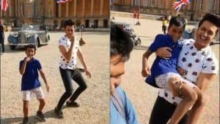 Viral Video: Fan Kid Teaching Riteish Deshmukh 'Correct' Step of Ek Chumma is Cutest Thing on Internet Today