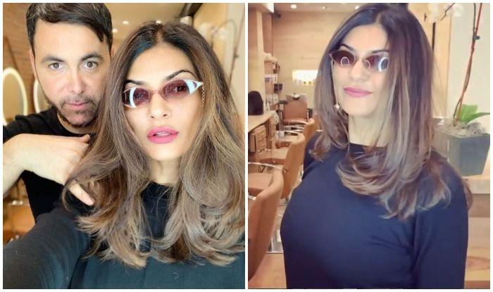 Balayage Miss Universe Sushmita Sen New York Hair Colour