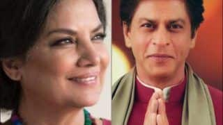 Shabana Azmi Defends Shah Rukh Khan After Latter's Diwali Picture With 'Tilak' Gets Trolled