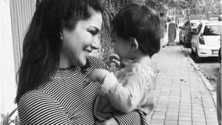 Sunny Leone's Monochromic Picture With Son as She Sees Him Off to School Will Light up Your Friday!