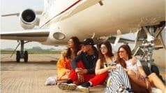 Kriti Sanon's Witty Caption Cracks Fans up as Housefull Stars Pose Under Charter in THIS Picture