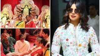 Priyanka Chopra-Kajol-Amitabh And Jaya Bachchan Glam up Durga Puja Festivities at Hosts Rani Mukerji-Ayan Mukerji's Pandal