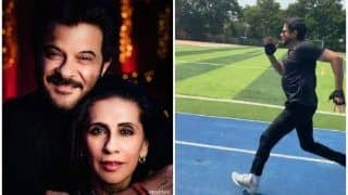 Anil Kapoor's Romantic Message For Wife Sunita Kapoor in THIS Viral Video on Karva Chauth Makes Bollywood Say 'Nazar na Lage'