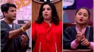 Bigg Boss 13 October 28 Episode Highlights: Rashami Desai-Siddharth Shukla Lock Horns in Farah Khan's Court