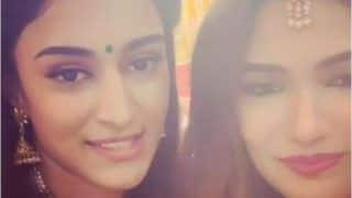 Erica Fernandes-Ridhima Pandit Fighting For THIS Boy's Attention Amps Cuteness Quotient at Balaji's Durga Puja