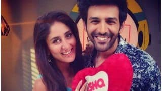 Kartik Aaryan Goes 'Haaye' as Kareena Kapoor Khan Thrusts Her Heart Into His, Picture Goes Viral