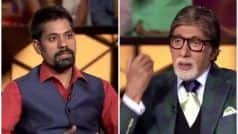 KBC 11 October 15 Episode LIVE Written Updates: Akhilesh Kumar Uses Two Lifelines on THIS Question, Wins Rs 12,50,000 so Far