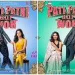 Pati Patni Aur Woh All Character Posters: Kartik Aaryan Straying Between Bhumi Pednekar-Ananya Panday is Typical of All Infidel Men Ever!