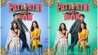 Pati Patni Aur Woh All Character Posters: Kartik Aaryan Straying Between Bhumi Pednekar-Ananya Panday is Typical of All Infidel Men Ever!