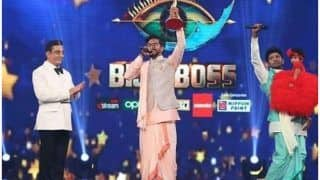 Bigg Boss Tamil 3 Grand Finale: Mugen Rao Carries Home Winner's Trophy And Cash Prize of Rs 50 Lakhs