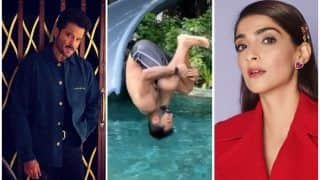 Anand Ahuja Sets 'Beach Holiday' Goals as he Somersaults Into Maldives Pool, Sonam Kapoor-Anil Kapoor React