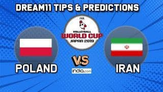 Dream11 Team Poland vs Iran Match 62 FIVB Volleyball Men's World Cup 2019 – Volleyball Prediction Tips For Today's Match POL vs IRA in Hiroshima
