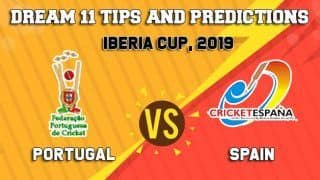 Dream11 Team Prediction Portugal vs Spain: Captain and Vice Captain For Today, Match 1 Iberia Cup 2019 Between POR vs SPA at Dubai 6:30 PM IST October 25