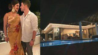 Priyanka Chopra Celebrates Diwali With Nick Jonas Wearing a Sabyasachi Saree - Check Viral Photos