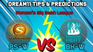 Dream11 Team Prediction Perth Scorchers Women vs Brisbane Heat Women: Captain and Vice Captain For Today, Match  Women's Big Bash League Between PS-W vs BH-W at Brisbane 8:40 AM IST October 26