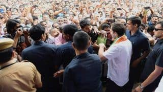 Kerala: Rahul Gandhi Joins Wayanad Protest Over Fears of Travel Ban on NH766 Near Tiger Reserve