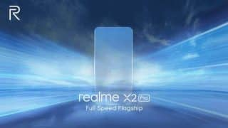 Realme X2 Pro teased with 135Hz touch sampling rate and 90Hz display, launch set for October 15