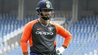 Rishabh Pant Fine-Tuning Wicketkeeping Skills Under Kiran More's Watch
