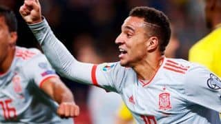 Euro Qualifiers: Spain Qualify, Red-Hot Italy Stretch Unbeaten Run