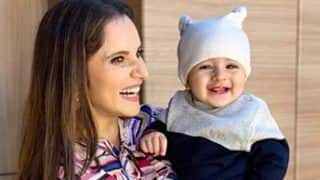 Tennis Star Sania Mirza Shares Adorable Picture of Baby Izhaan on 1st Birthday