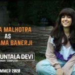 Shakuntala Devi: Sanya Malhotra Unveils Her First Look as Vidya Balan's Daughter