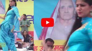 Sapna Choudhary Video: नीला सूट में सपना चौधरी ने लगाए ठुमके,  करोड़ों लोगों के दिल पर चली छुरियां