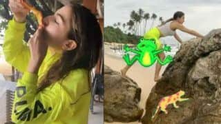 Sara Ali Khan Takes Break From Shooting of Coolie No.1, Chills in Sri Lanka With Friends