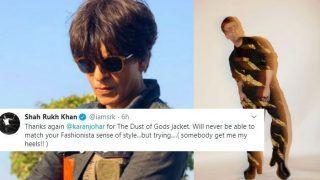 Shah Rukh Khan Takes a Dig at Karan Johar's 'Heels' After His Photos From Vogue Women of The Year Awards go Viral