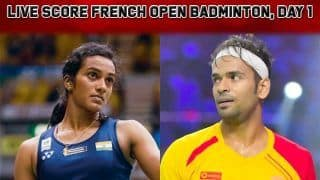 French Open Badminton 2019 Day 1 Live Score: Subhankar Dey Beats Tommy Sugiarto to Enter 2nd Round