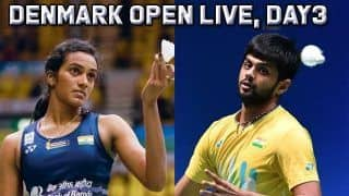 Denmark Open Badminton 2019 Day 3 LIVE SCORE: 17-year-old An Se Young Knocks Out World Champion PV Sindhu, B Sai Praneeth Loses to Kento Momota