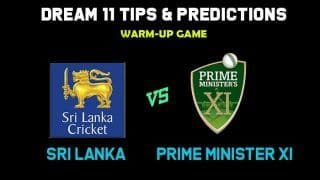 Dream11 Team Prediction Sri Lanka vs Prime Minister XI: Captain and Vice Captain For Today Warm-up game Between SL vs PM-XI at Canberra 1:40 PM IST October 24