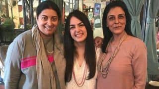 Smriti Irani Wishes Daughter Shanelle Irani on Birthday With a Lovely Post, Ekta Kapoor Joins in