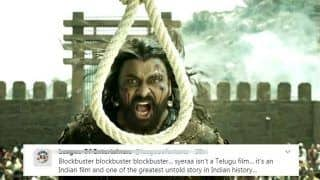 Sye Raa Narasimha Reddy Twitter Review: Chiranjeevi's Costume Drama Declared 'Blockbuster' Already