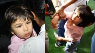 Taimur Ali Khan Tells Paparazzi 'Excuse Me' as They Block His Way- Watch Viral Video