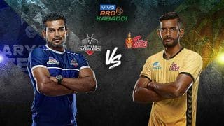 Dream11 Team HYD vs HAR Pro Kabaddi League 2019 – Kabaddi Prediction Tips For Today's PKL Match Haryana Steelers vs Telugu Titans at Tau Devilal Sports Complex in Panchkula